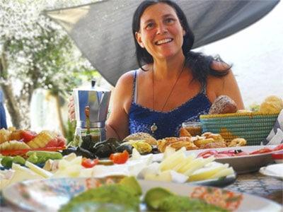 Tiziana Santi - vegan chef