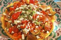 vegetarian catering - polenta